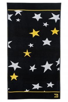 Prosop negru print geometric