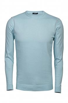 Slim body Light blue Sweater