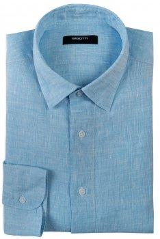 Camasa Shaped din in Bleu Uni