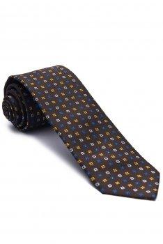 Cravata maro print geomeric
