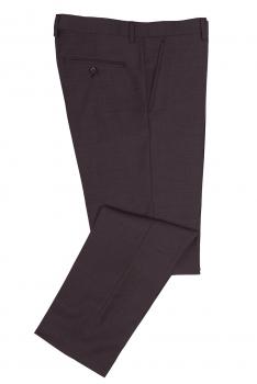 Slim body Burgundy Plain Trouser