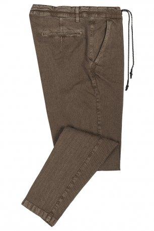 Pantaloni maro uni