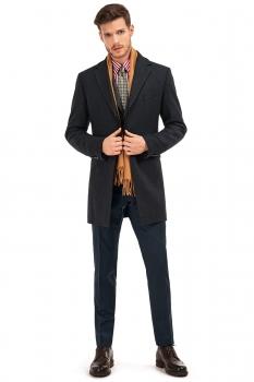 Superslim Navy Plain Trouser
