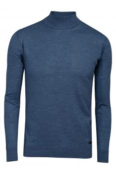 Slim body Blue Sweater