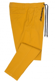 Baggy Yellow Plain Trouser