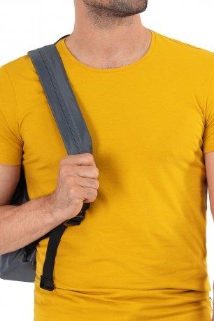 tricou galben uni