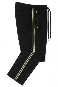 Slim body Black Plain Trouser