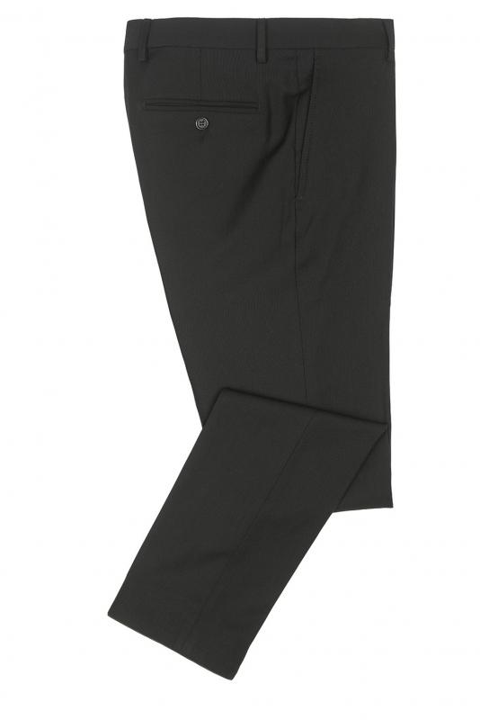 Pantaloni ricco negri uni
