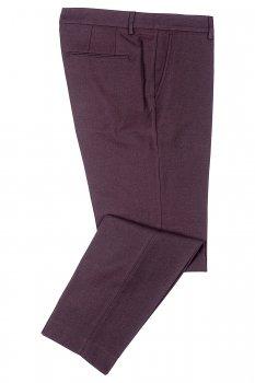 Pantaloni slim grena Uni