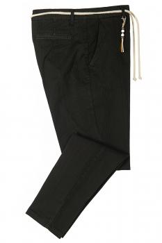 Baggy Black Plain Trouser