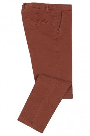 Pantaloni portocalii uni