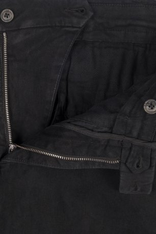 Pantaloni regular negri uni