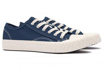 Sneakers Bleumarin din Bumbac