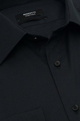 Camasa slim stretch neagra uni