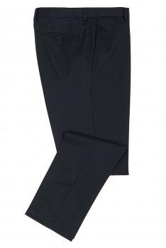 Pantaloni riccof superslim bleumarin uni