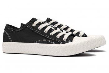 Sneakers Negri din Bumbac