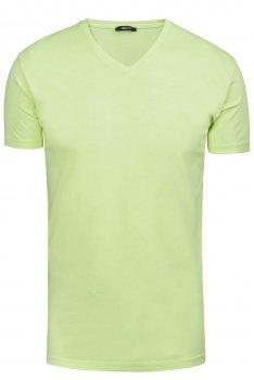Tricou verde uni