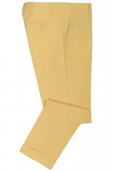 Pantaloni galbeni uni