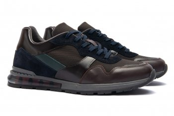 Sneakers Maro Piele naturala si textil