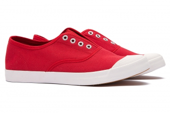 Red Cotton Shoes