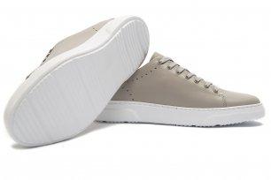 Sneakers bej piele naturala